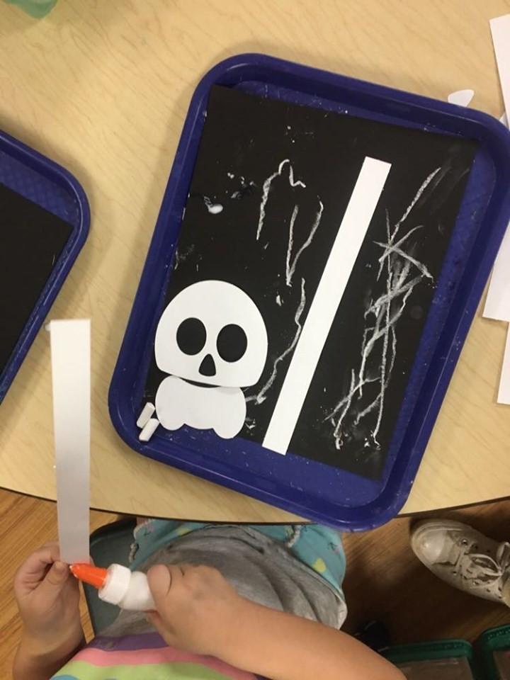X-Ray process art activity