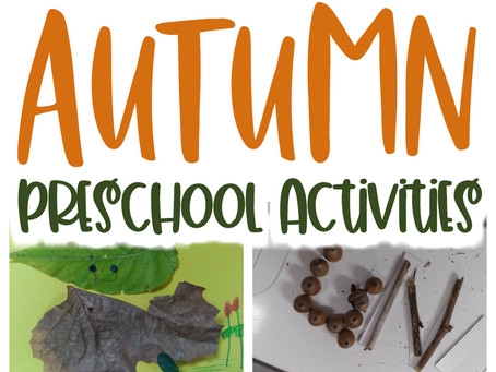 Learning About Changing Leaves with Preschoolers