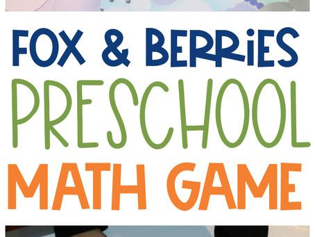 Fox & Berries Preschool Math Game