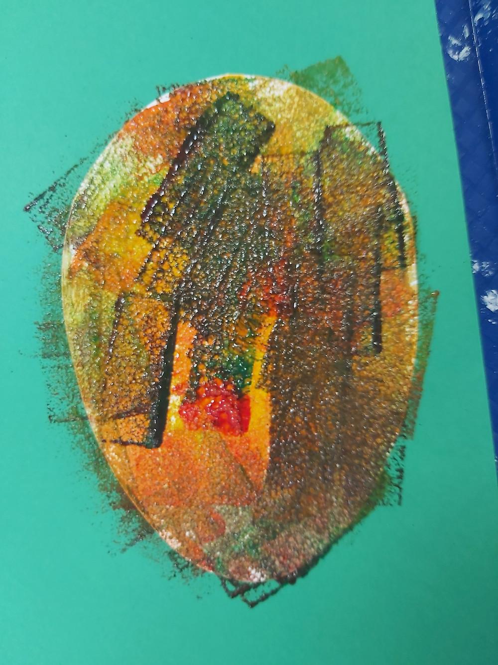 paper mango craft