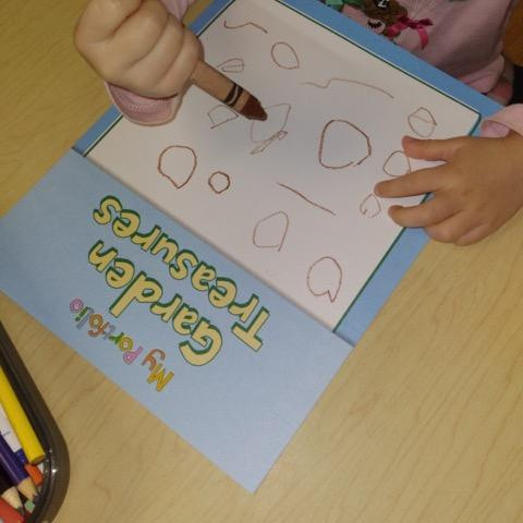 child decorating portfolio cover page