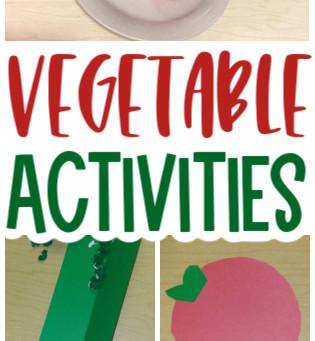 Garden Vegetable Activities for Preschoolers