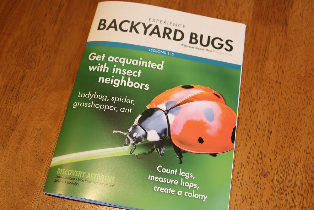 Backyard Bugs Lessons 1-5 Teacher Guide