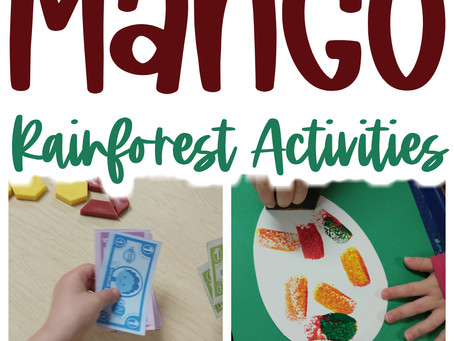 Learning About Mangoes with Preschoolers