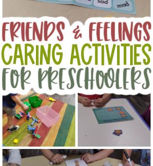 Caring Activities for Preschoolers