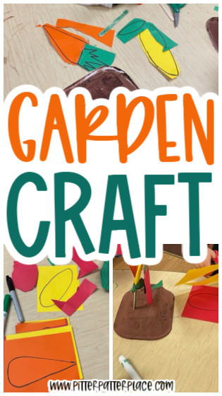 collage of garden craft images with text: Garden Craft