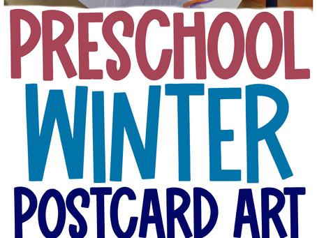 North Pole Postcard Creative Art Activity