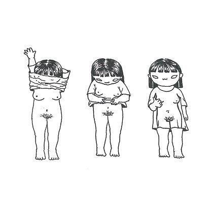 ashamed of our nudity