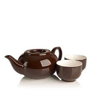 Ceramic Infuser Teapot Chocolate Set