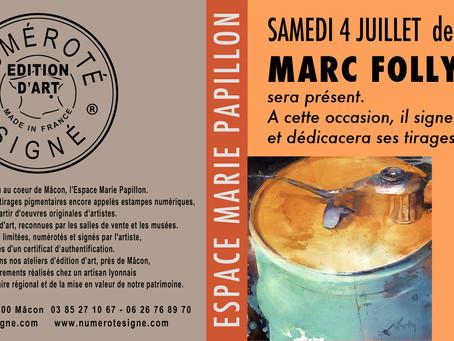 Dédicaces et Signatures de Marc Folly