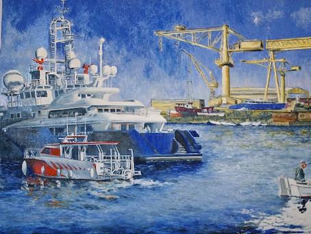 La Ciotat - Chantier Naval - détail