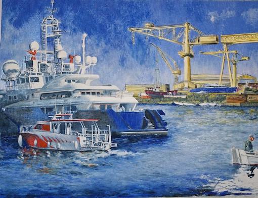 La Ciotat Chantier Naval détail