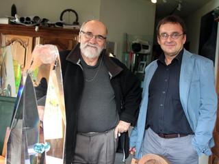 Rencontre avec Yan Zoritchak Maître verrier (automne 2013)