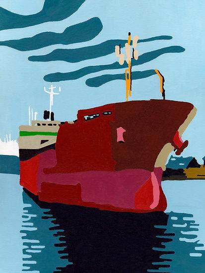 Cargo rouge