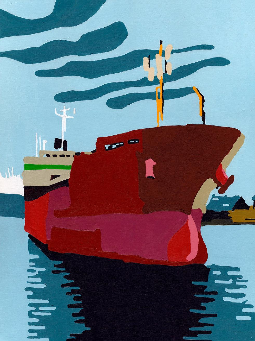 St Malo - Le Cargot rouge