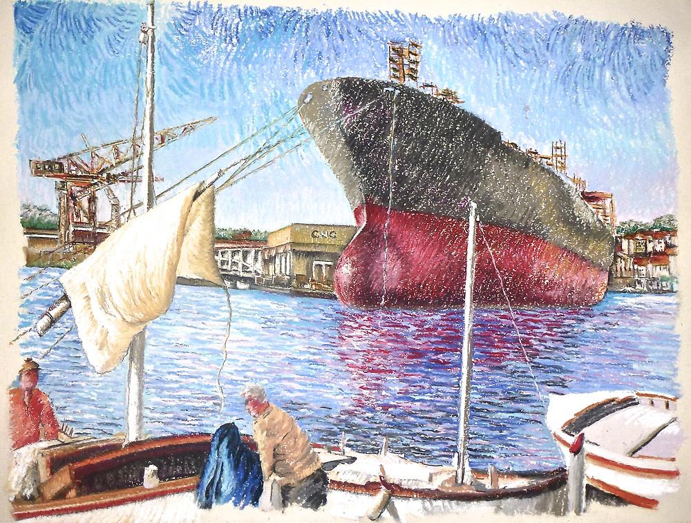 La ciotat- Chantier Naval- Le Monge