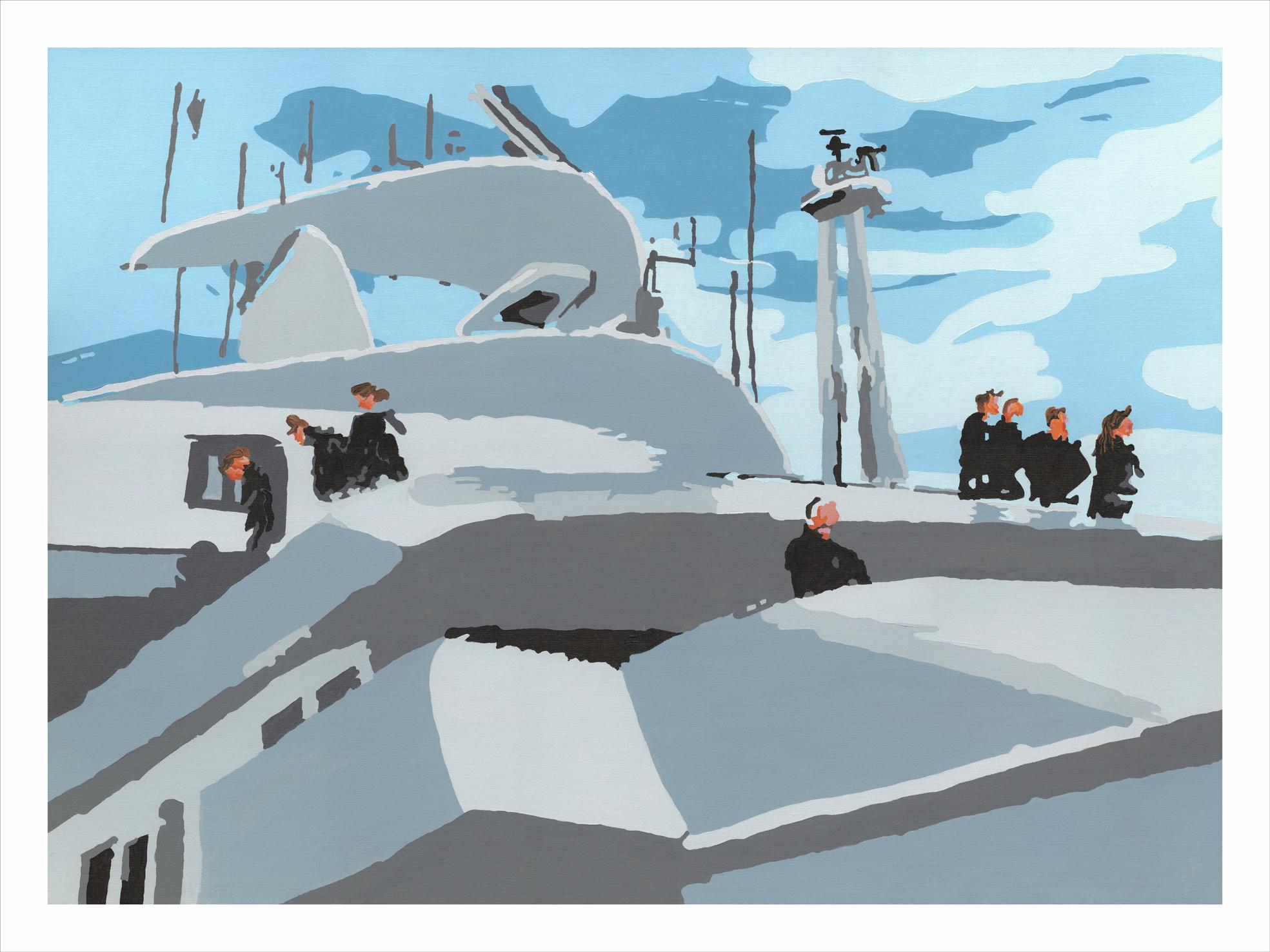 St Malo - Passerelle du Cruiser Expl