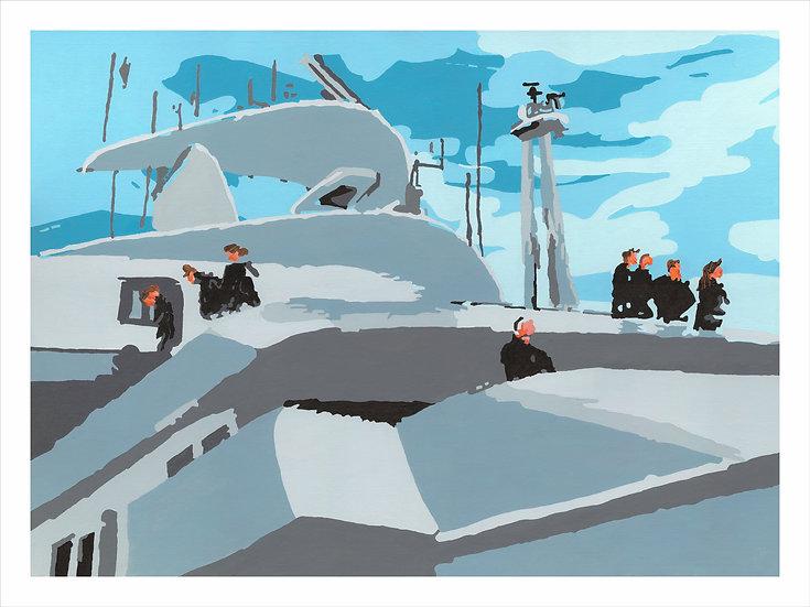 Passerelle du Cruiser Explorer