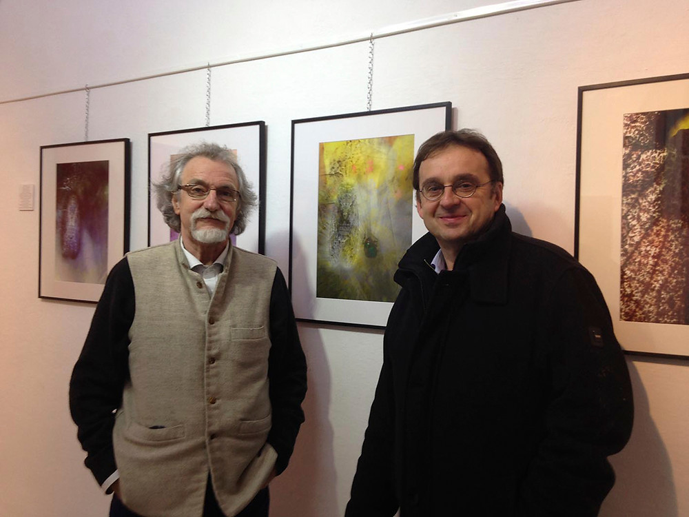 Herve Negre et Jean Paul Zak  Galerie l'Envoutée
