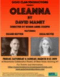 Oleanna ArtsWestchester screen shot 2018