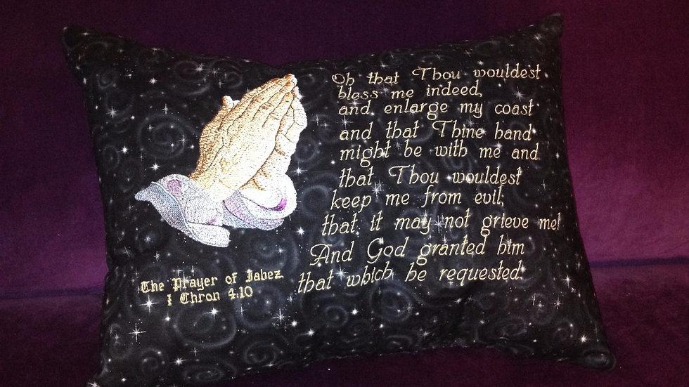 """Prayer Pillows - Small 18""""x18"""""""