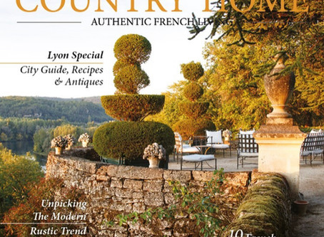 My French Country Home, the magazine.  A work of art full of surprises