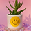 Thumbnail: glitter smiley cup set