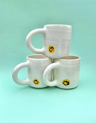 real life smile mug