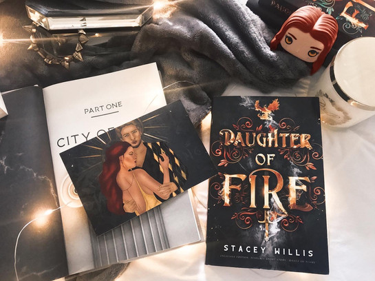Daughter of Fire Exclusive Edition Bookstagram