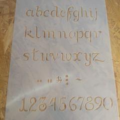3050ABC cursiva minus