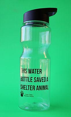 Water Bottle saved a shelter animal_web.