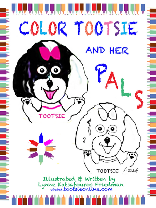 Tootsie & Pals Coloring Book