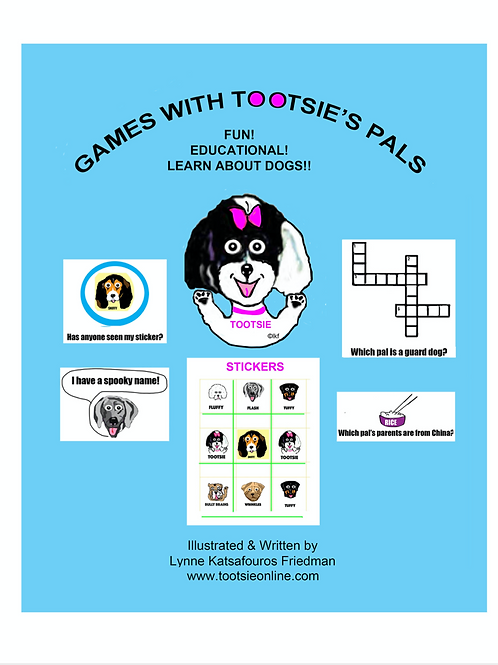 Tootsie's Activity Book