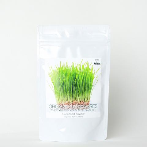 Natuur : ORGANIC 5 GRASSES