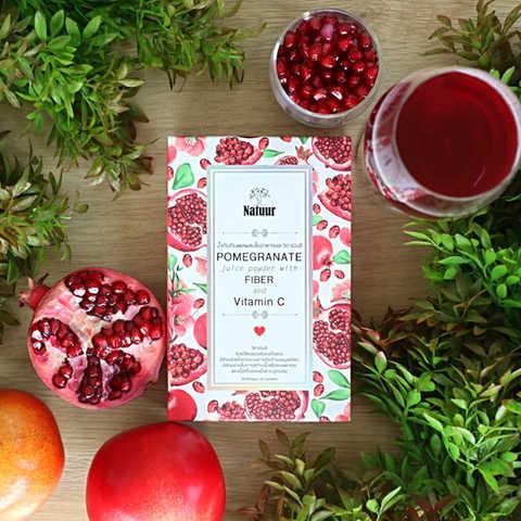 Natuur:Pomegranate juice powder with Fiber and VitaminC