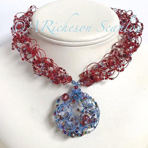 J101  Love Circle Necklace