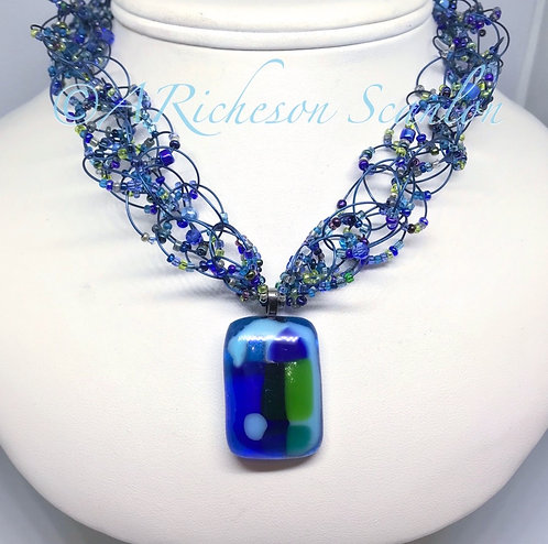 J105  Persian Waters Necklace