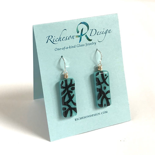 """Abstract"" Earrings"