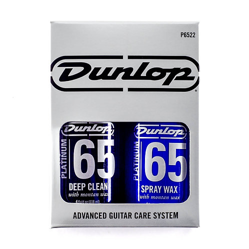 Dunlop - Platinum 65 Clean - Spray Wax - Twin Pack