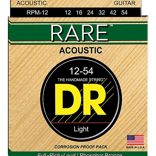 DR Strings - Rare Phosphor Bronze - Acoustic