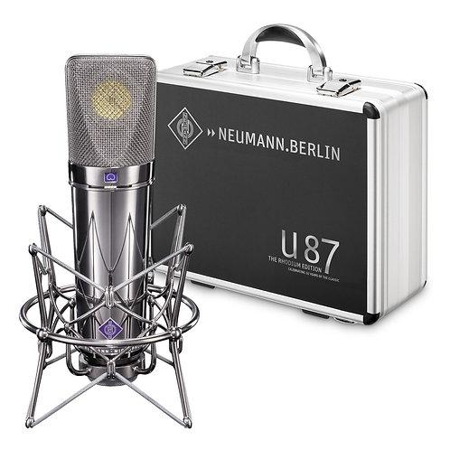 Neumann - U 87- The Rhodium Edition