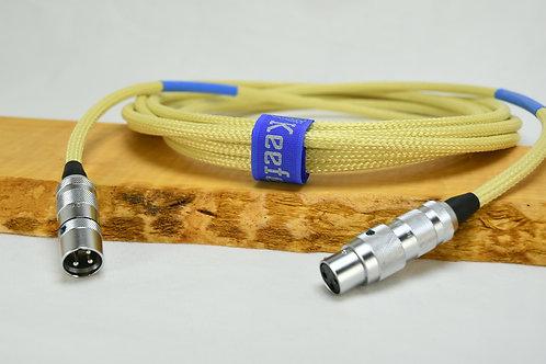 Keefe Conductors Custom - XLR - Mogami W2549 Cable