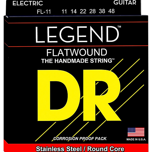 DR Strings - Legend Flat Wound - Electric