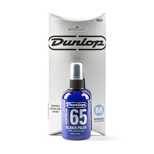 Dunlop - Platinum 65 Cleaner Polish With Cloth