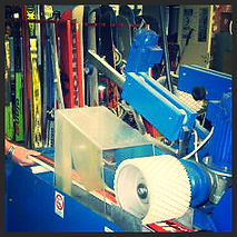 Manutenzione sci, sestola, neve