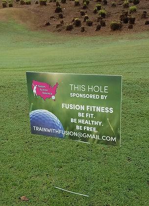 Hole Sign Sponsor