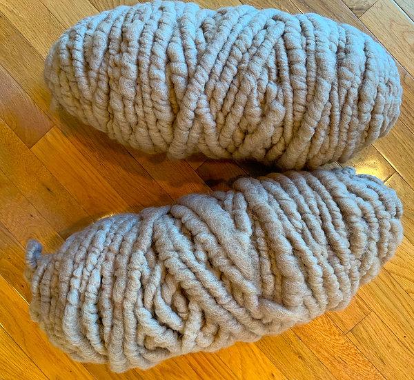 Alpaca Blend Rug Yarn - Fawn - 70% alpaca/30% merino
