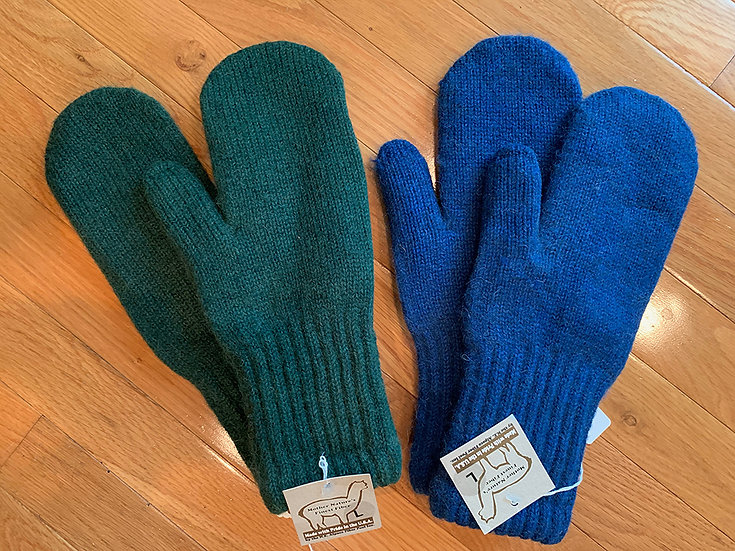 Double Thick Alpaca Mittens