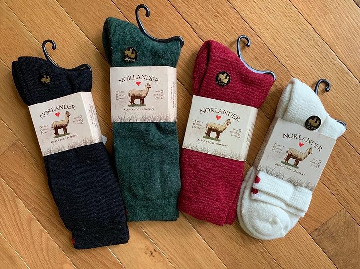 Lightweight Alpaca Crew Socks