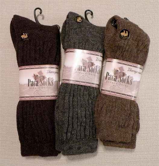 Alpaca Therapeutic/Diabetic Socks